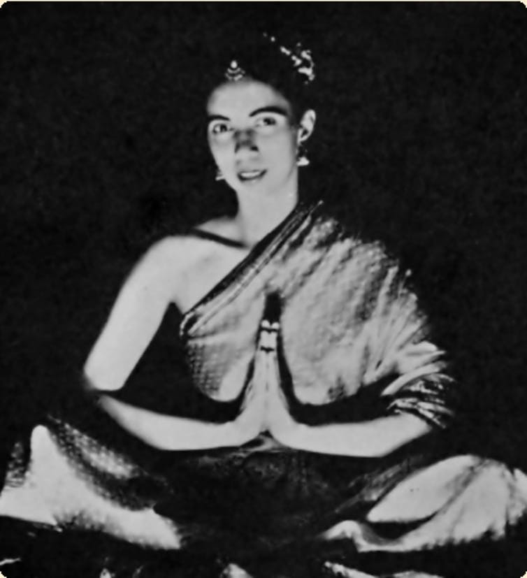 Yogini Sunita, around 1965. Credit: The Lotus and the Rose Publishers/Suzanne Newcombe