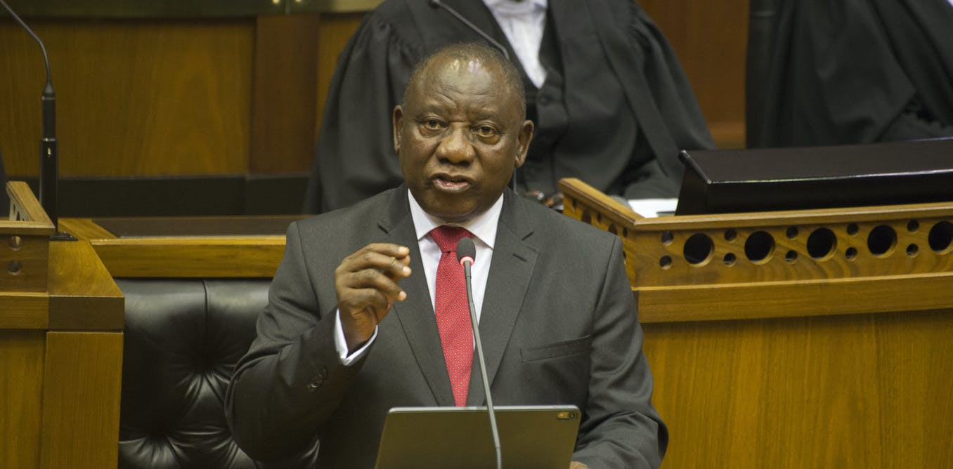 Ramaphosa shows that he's in control. But does he have what it takes to win?