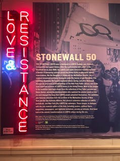 Remembering the Stonewall riot in New York