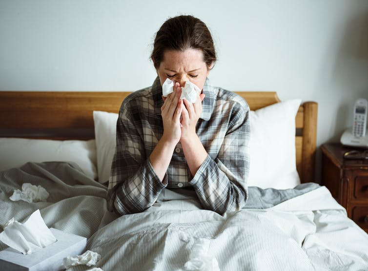 You can't get influenza from a flu shot –here's how it works