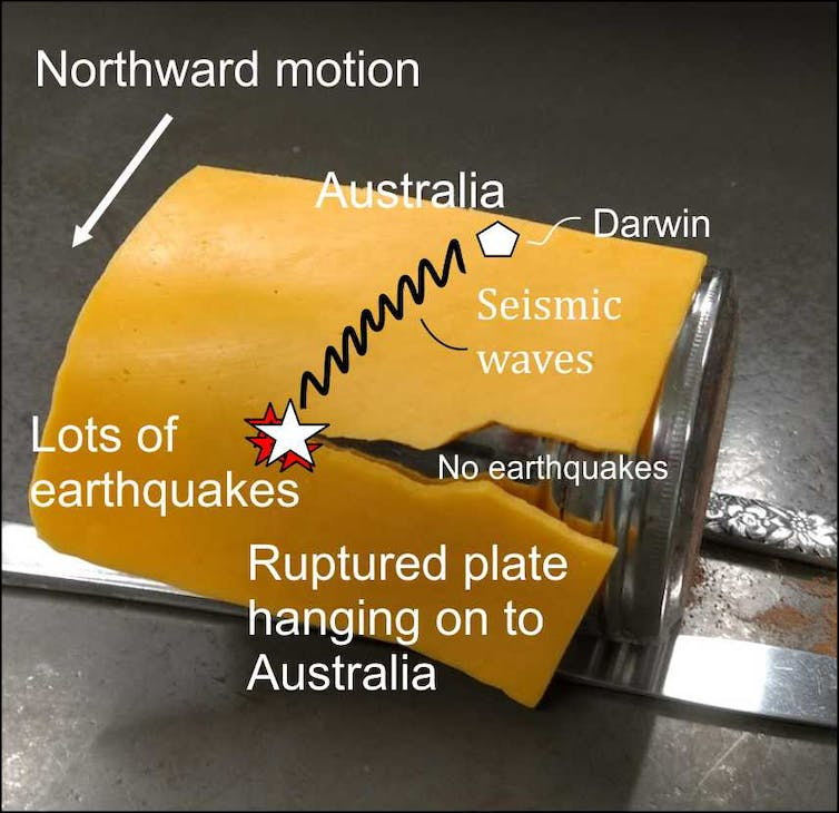 'Like tearing a piece of cheese': here's why Darwin was rocked so hard by a distant quake