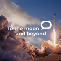 MORE ON THE MOON AND BEYOND