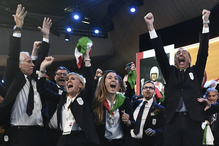 Italy's minimal competition to host the 2026 Winter Olympics