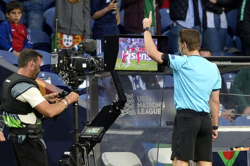 Video Assistant Referee: in football, as in war, sometimes we need a