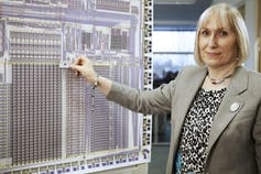 Sophie Wilson, científica computacional.Chris Monk / Wikimedia Commons
