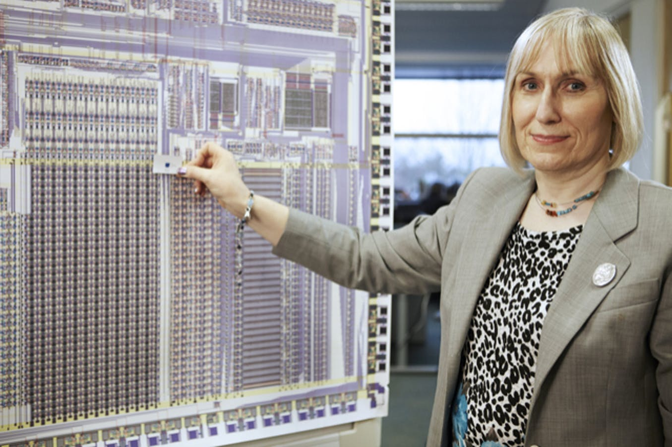 Sophie Wilson, científica computacional. Chris Monk / Wikimedia Commons