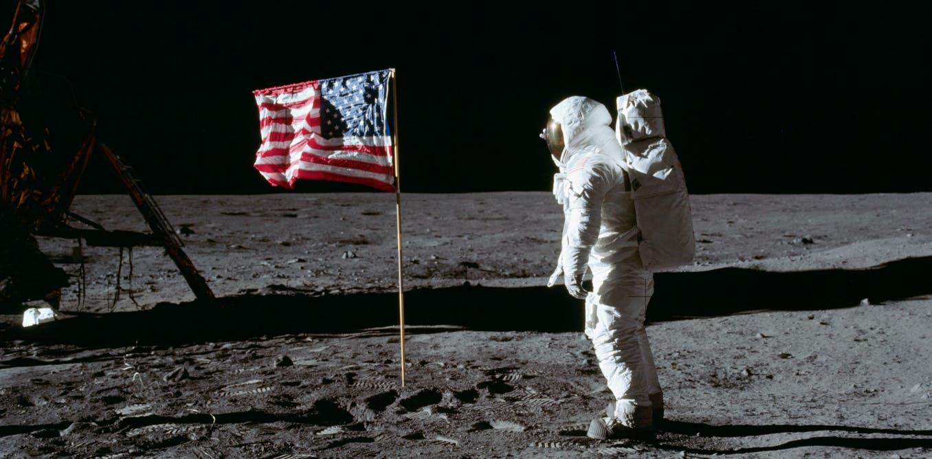 Moon landings footage would have been impossible to fake – a film expert explains why