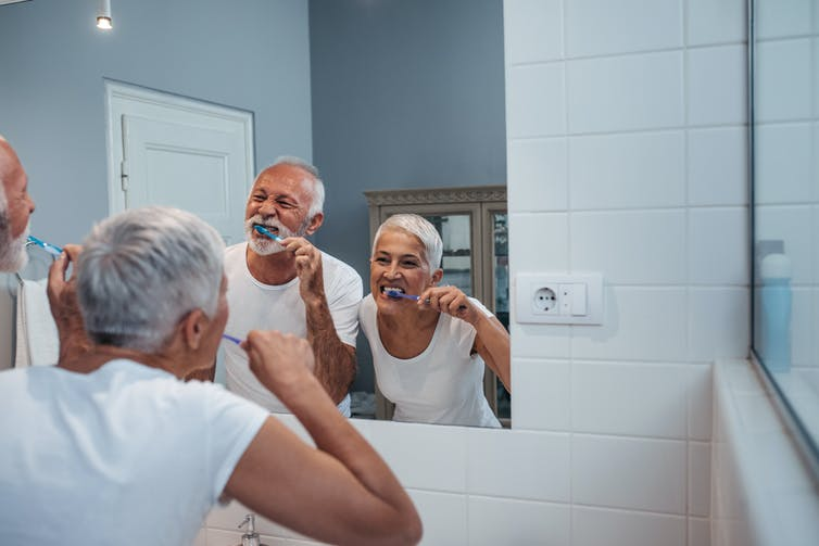 Lack of toothbrushing for seniors in nursing homes may sound gross, but it's a serious health risk