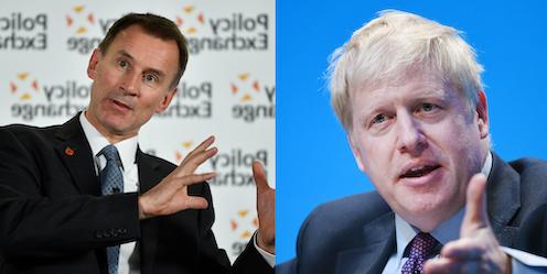 Tory leadership race: it's Jeremy Hunt (who?) vs Boris