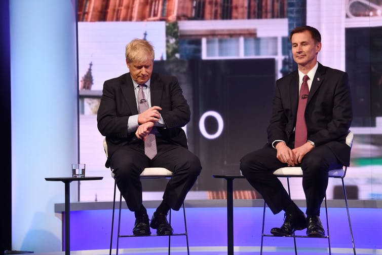 it's Jeremy Hunt (who?) vs Boris Johnson (yes, really), with the future of the UK at stake