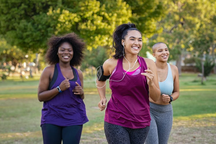 women-running-exercising-to-increase-healthy-lifestyle