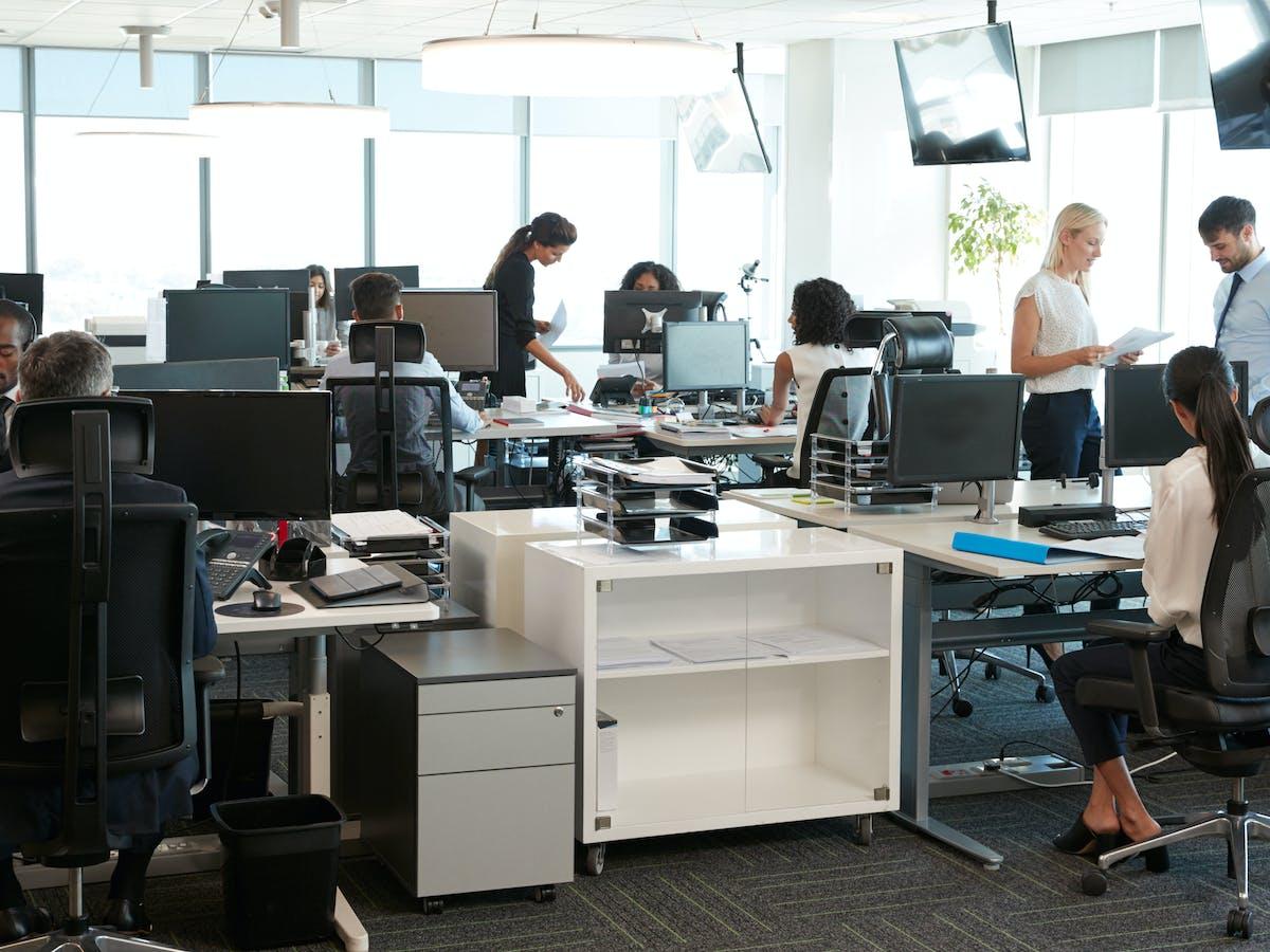 Belle Les aires ouvertes au travail ne sont pas une si mauvaise idée. À UR-96