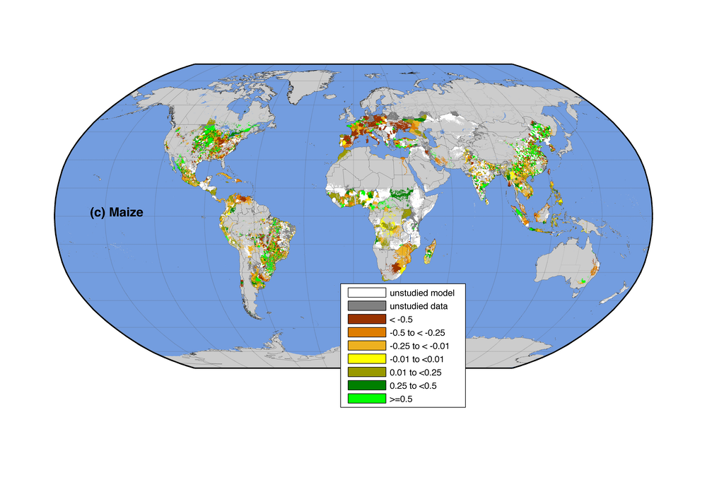 Climate change is affecting crop yields and reducing global ...