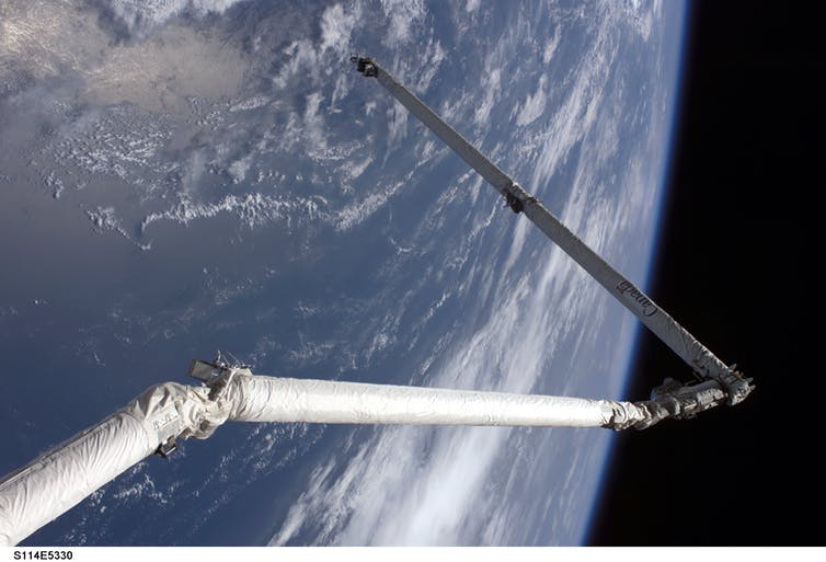 Why isn't Australia in deep space?