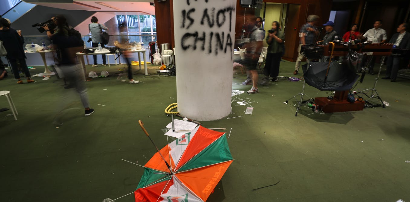 Hong Kong protests: why Chinese media reports focus on Britain's colonial past