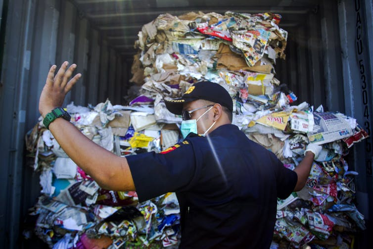 Indonesia has sent Australia's recycling home – it's time to clean up our act