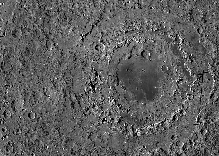 Why the Moon is such a cratered place