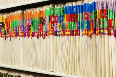 how the move to digital medical records is leaving us drowning in old paper files