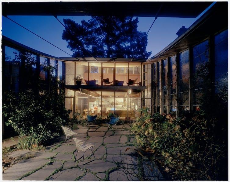 Boyd House windows
