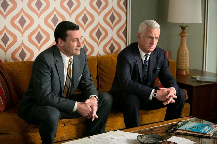 The hit TV series Mad Men