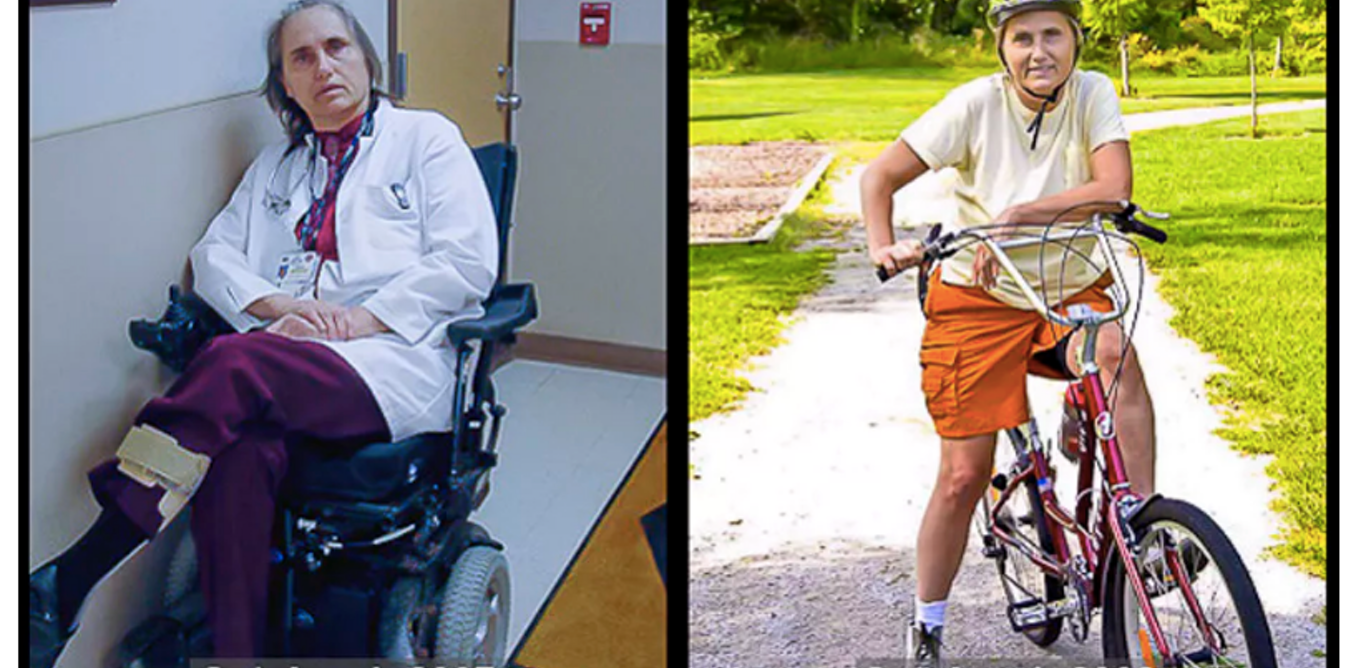 Out of my wheelchair and back on my bike: why I'm putting MS diet to the test