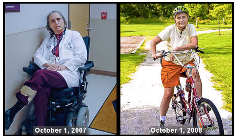 Out of my wheelchair and back on my bike: why I'm putting MS diet to