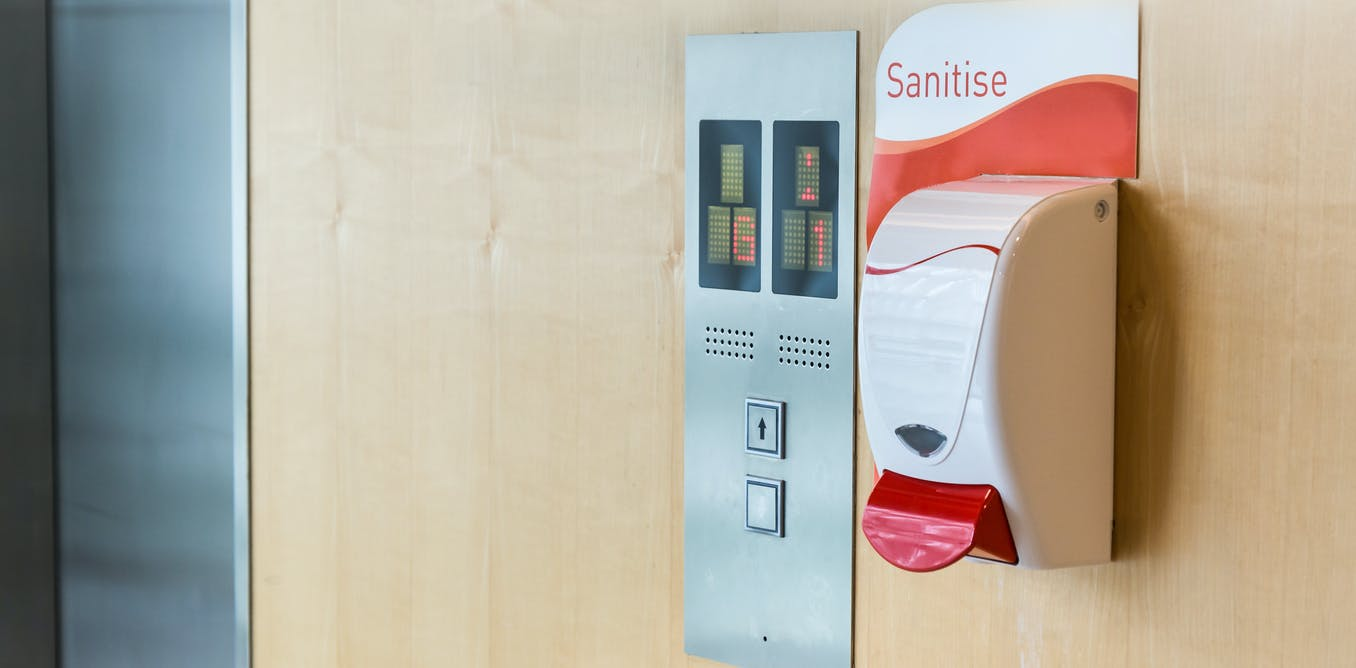 Hand sanitisers in public won't wipe out the flu but they might help reduce its spread