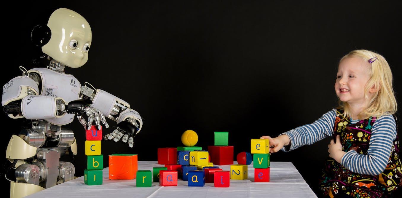 Robot perlu belajar dari anak-anak agar bisa merawat orang tua mereka pada usia senja