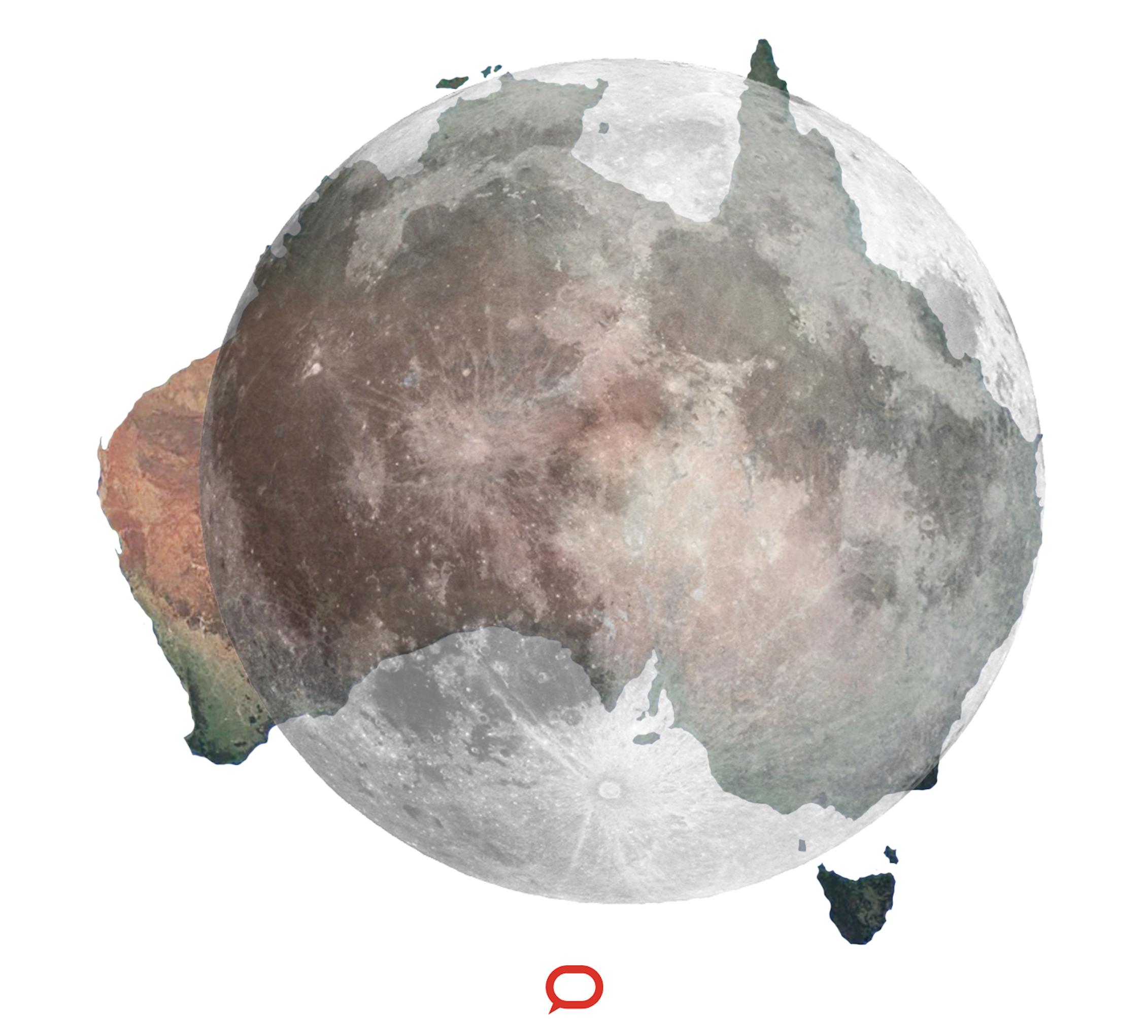 how big is the moon - HD2262×2043