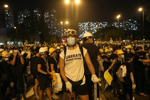 Extremist mobs? How China's propaganda machine tried to control the message in the Hong Kong protests