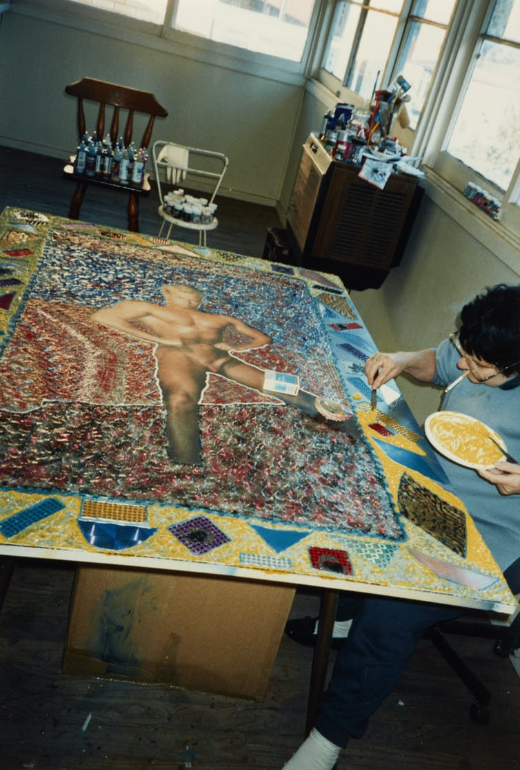 Pat Larter, pioneering 'femail' artist who gave men the Playboy treatment