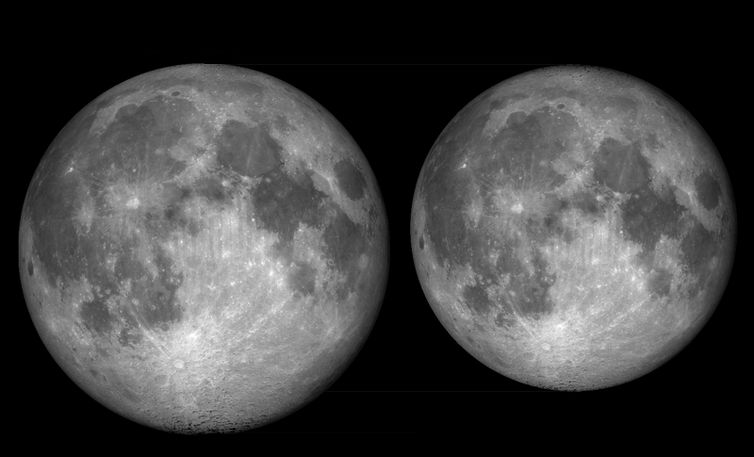 How big is moon and how far is it? Let's put facts into perspective