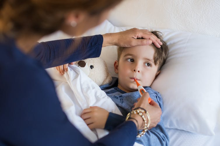 Curious Kids: how does our blood fight viruses like chicken pox and colds?