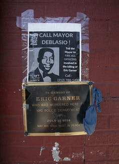 Why the federal government isn't prosecuting the officer who choked Eric Garner