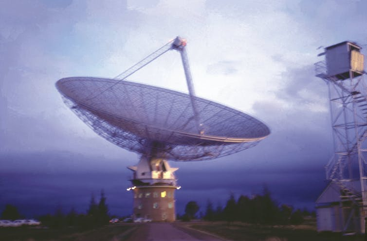 Not one but two Aussie dishes were used to get the TV signals back from the Apollo 11 moonwalk