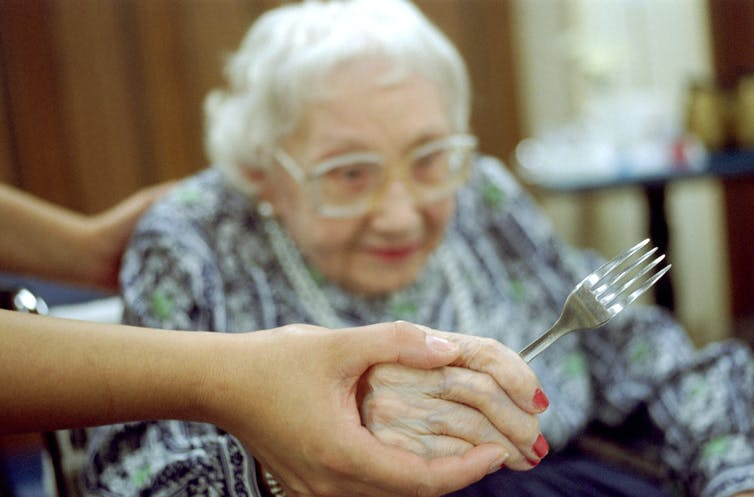 Showing how Residents often need help at mealtimes