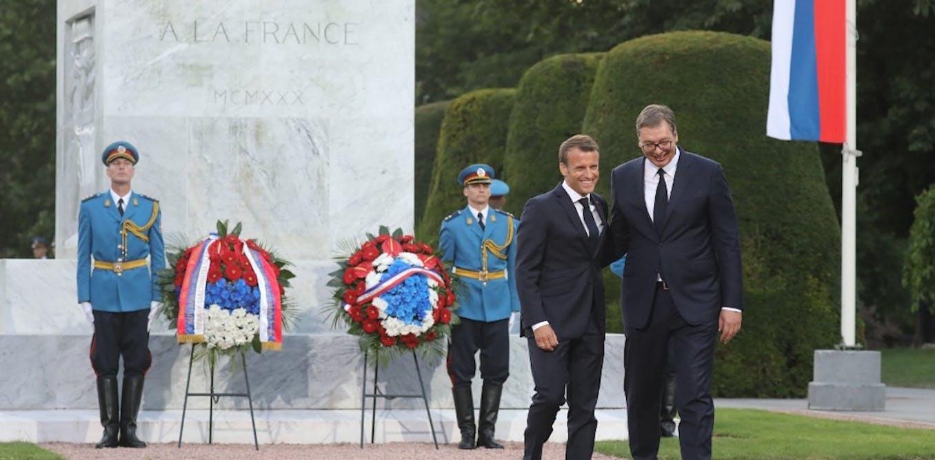 Le pari d'Emmanuel Macron dans les Balkans : empêcher l'histoire de « bégayer »