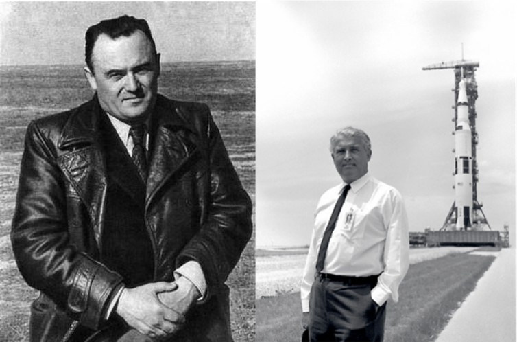 Koroliov vs. Von Braun. Author provided