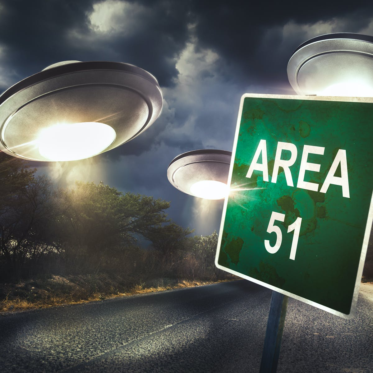Yes, I'm searching for aliens – and no, I won't be going to Area 51 to look for them