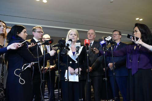 Image result for Government ministers responded to the construction industry crisis by announcing a national approach to implementing recommendations of a report they commissioned in 2017 and received 17 months ago. Bianca De Marchi/AAP