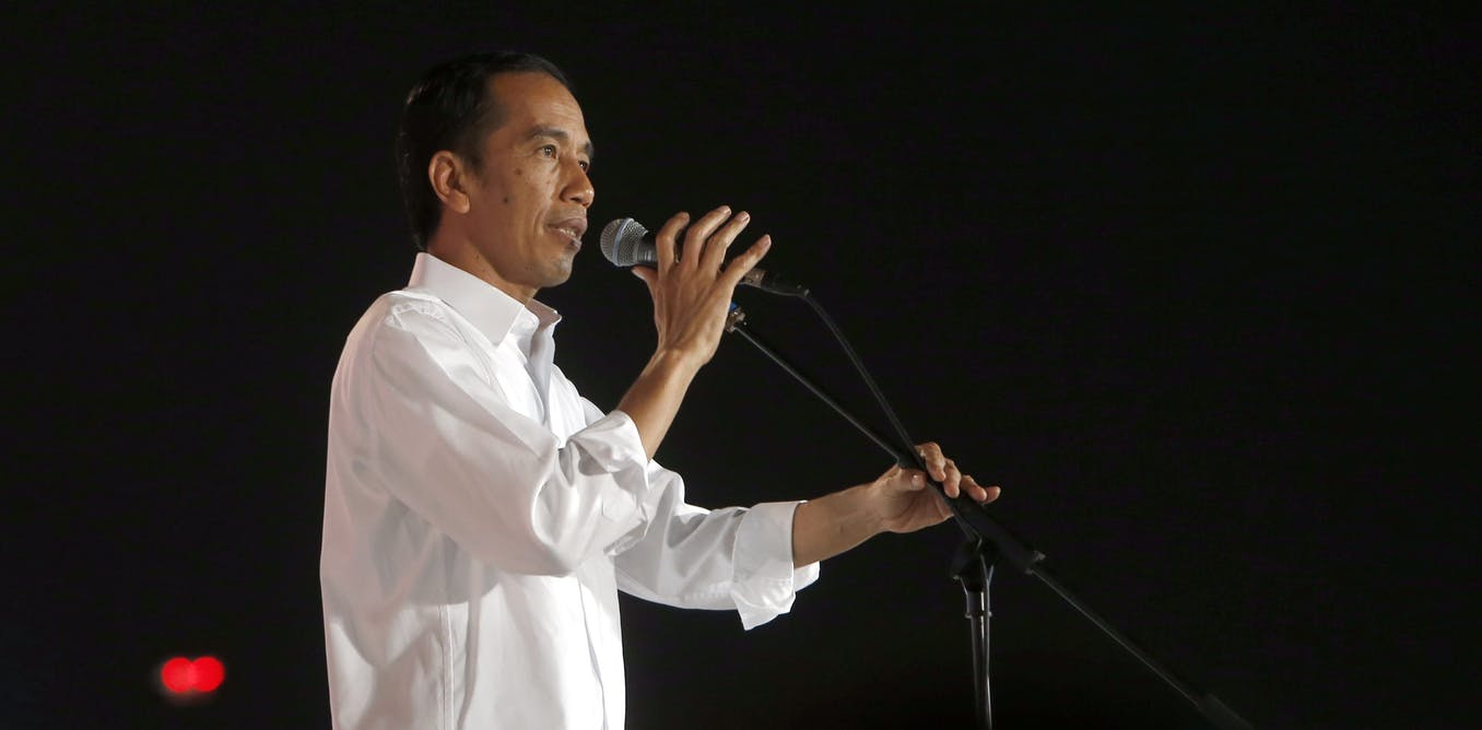 Jokowi's victory speech: how his diction reveals his political messages