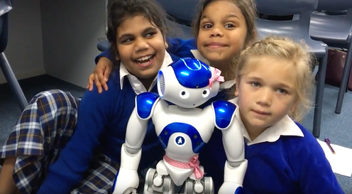 How a robot called Pink helped school children bring an Aboriginal language back to life