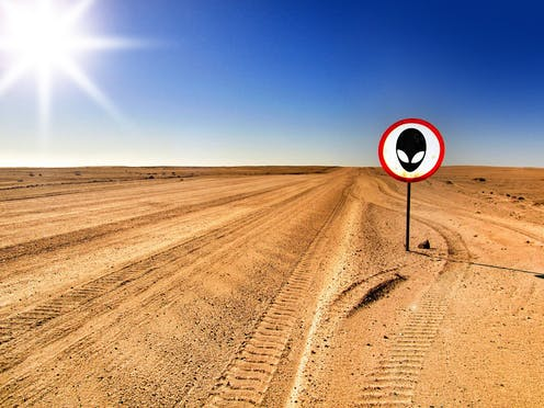 d25eec9cb Internet jokesters call for people to storm Area 51 to find aliens – here's  some science to consider