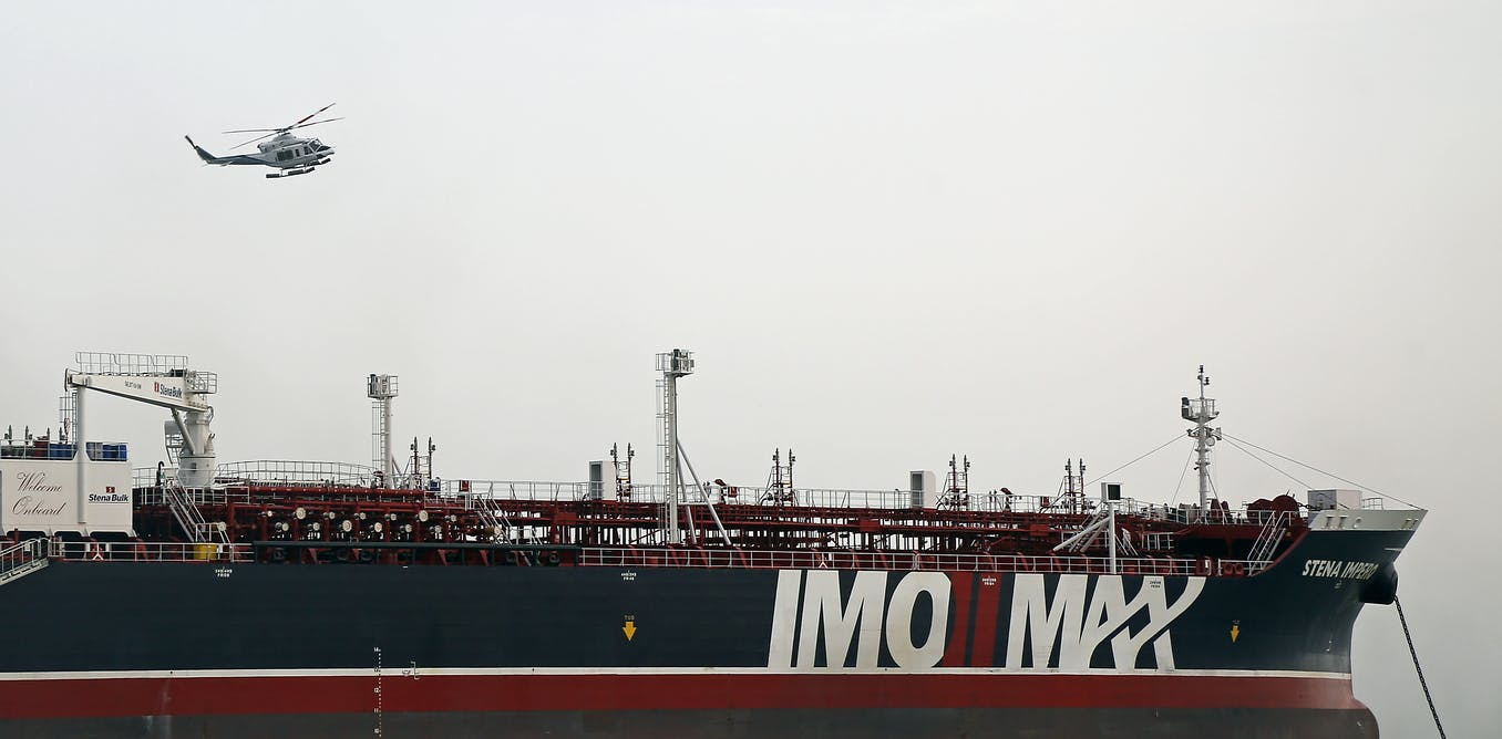 Iran: what the law of the sea says about detaining foreign ships in transit