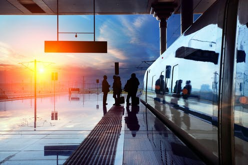 Southampton to Shanghai by train – one climate change researcher's