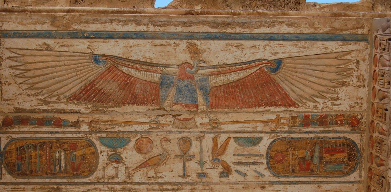Les hiéroglyphes, cette source infinie de fascination