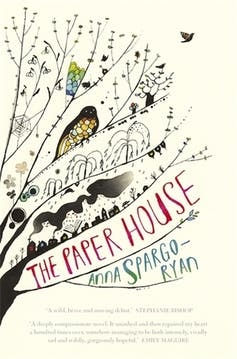 the art and genius of metaphor in Anna Spargo-Ryan's The Paper House