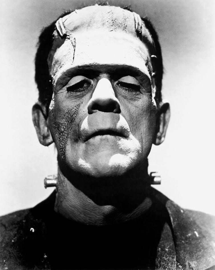 Boris Karloff plays Frankenstein's monster, 1935