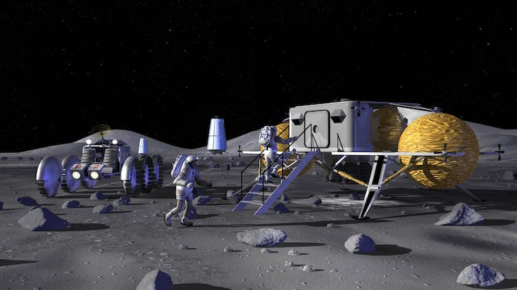 Moon 2069: lunar tourism and deep space launches a century on from