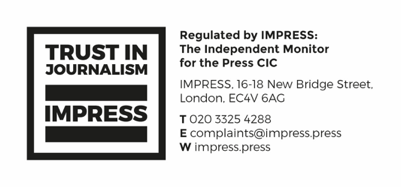 IMPRESS: The Independent Monitor of for the Press CIC. IMPRESS, 16-18 New Bridge Street, London, EC4V 6AG